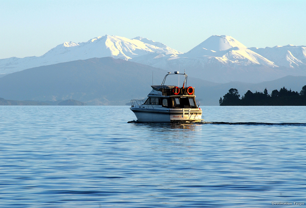 Destination Lake Taupo, courtesy NZ Tourism