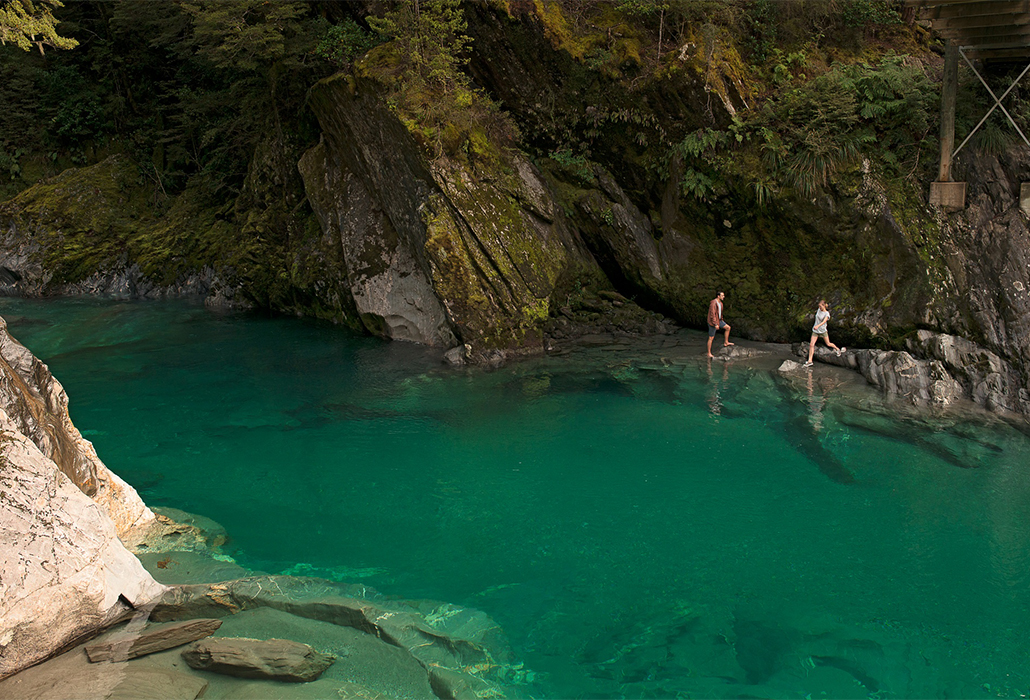 Haast Blue Pools