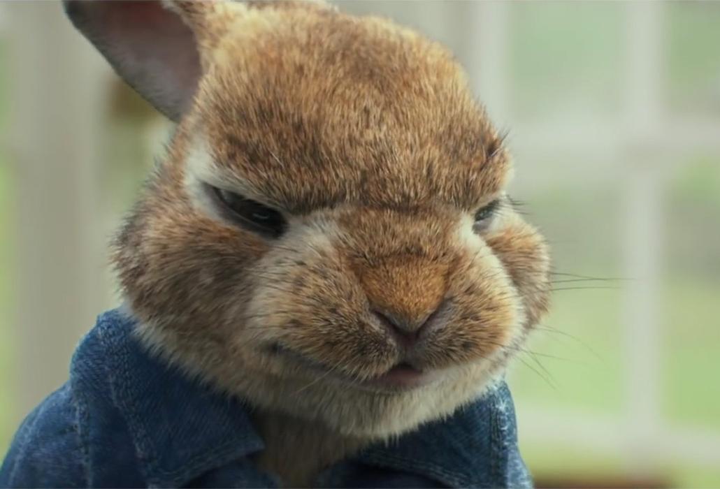 Peter Rabbit Growling