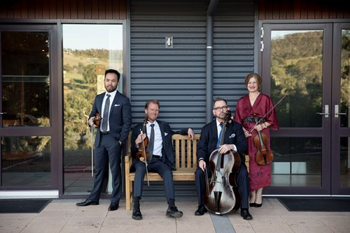 Brandenburg Quartet, courtesy Australian Brandenburg Orchestra