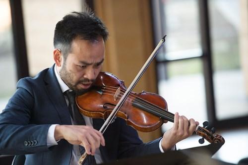 Violin, Shaun Lee-Chen, courtesy Australian Brandenburg Orchestra