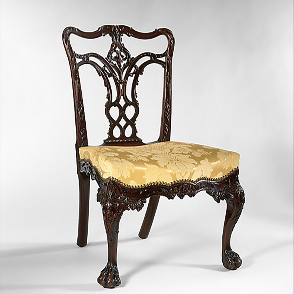 Chippendale Chair by Benjamin Randolph The MEt