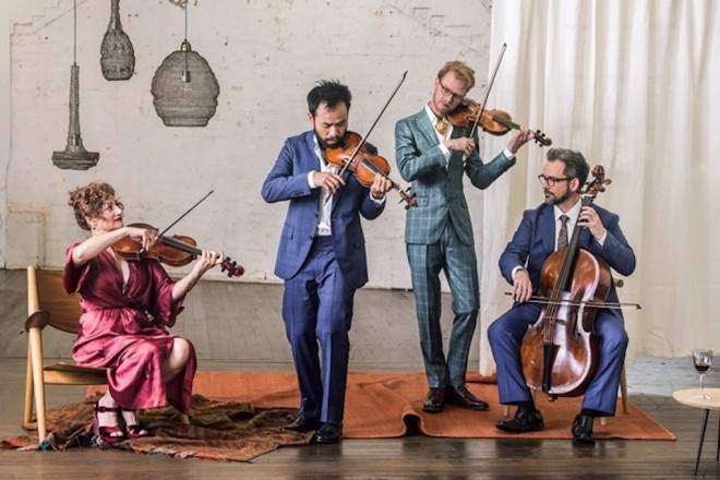 Brandenburg Quartet: On The Road – Four Players, Five Cities