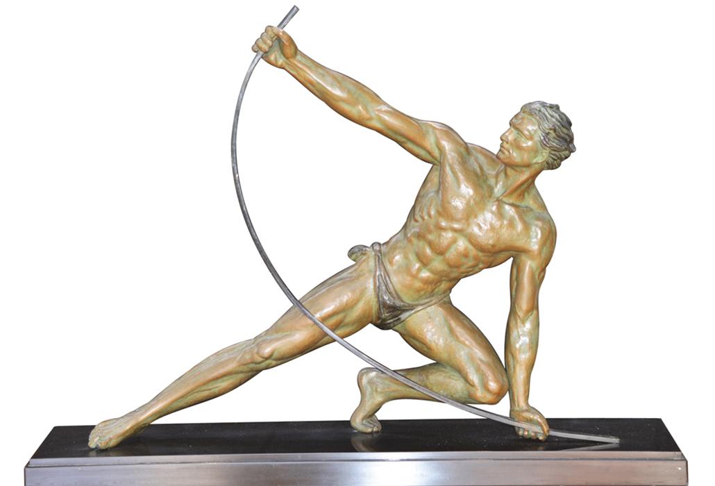 Deco Archer Statue