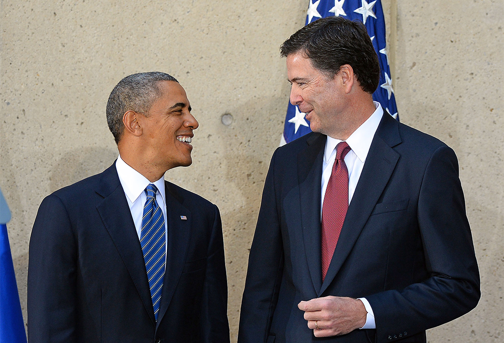 Comey and Obama