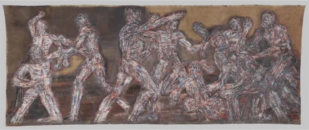 Gigantomachy II Leon Golub (American, Chicago 1922–2004 New York)