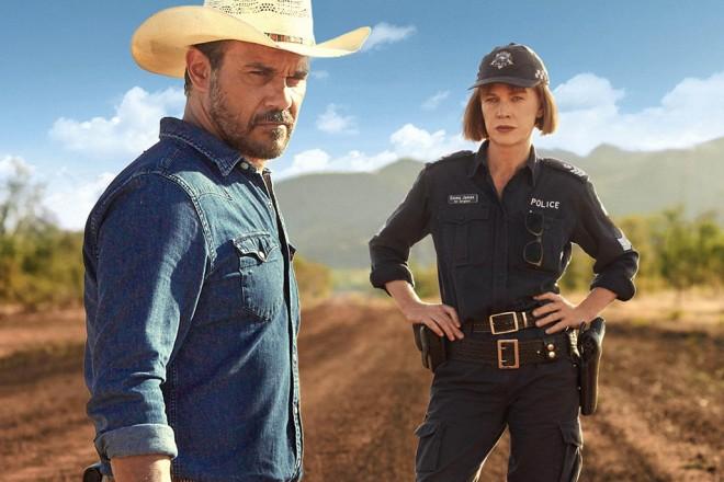 Mystery Road – Aaron Pederson & Judy Davis, Outback Art Noir