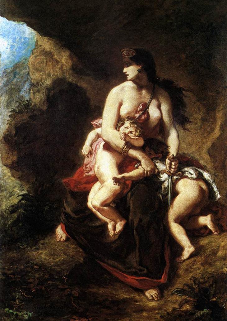 Delacroix Medea copy