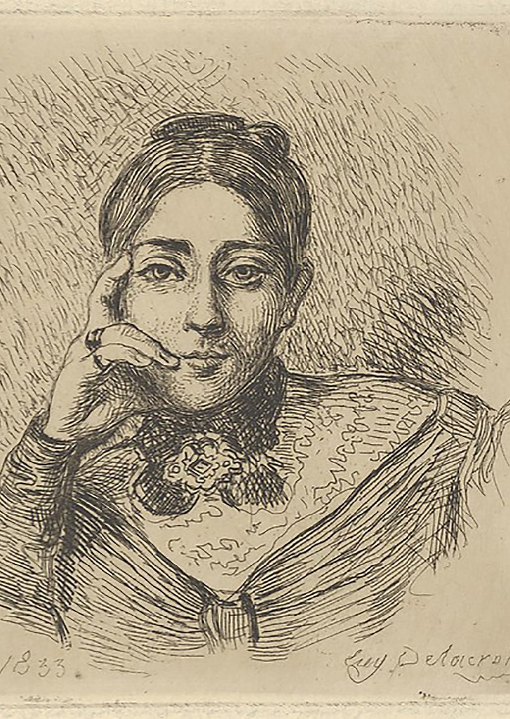 Portrait of Madame Frédéric Villot