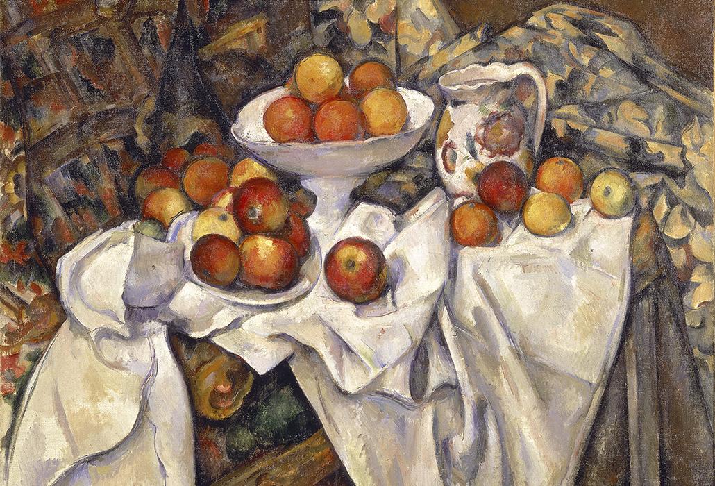 Detail Cezanne MoMA