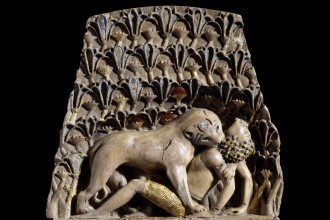 Lioness Plaque Full Size