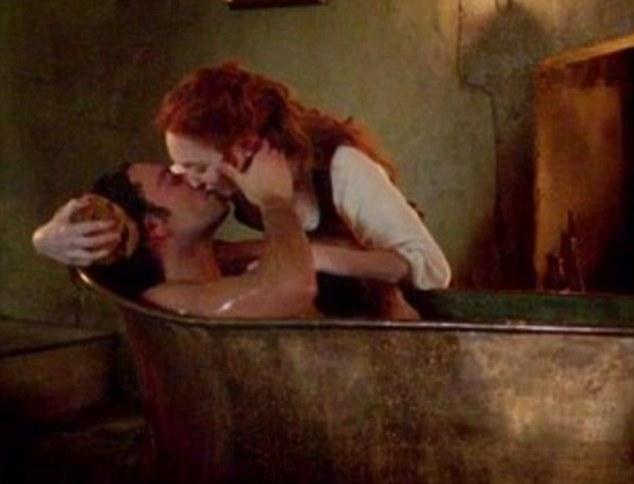 Poldark Bath Scene