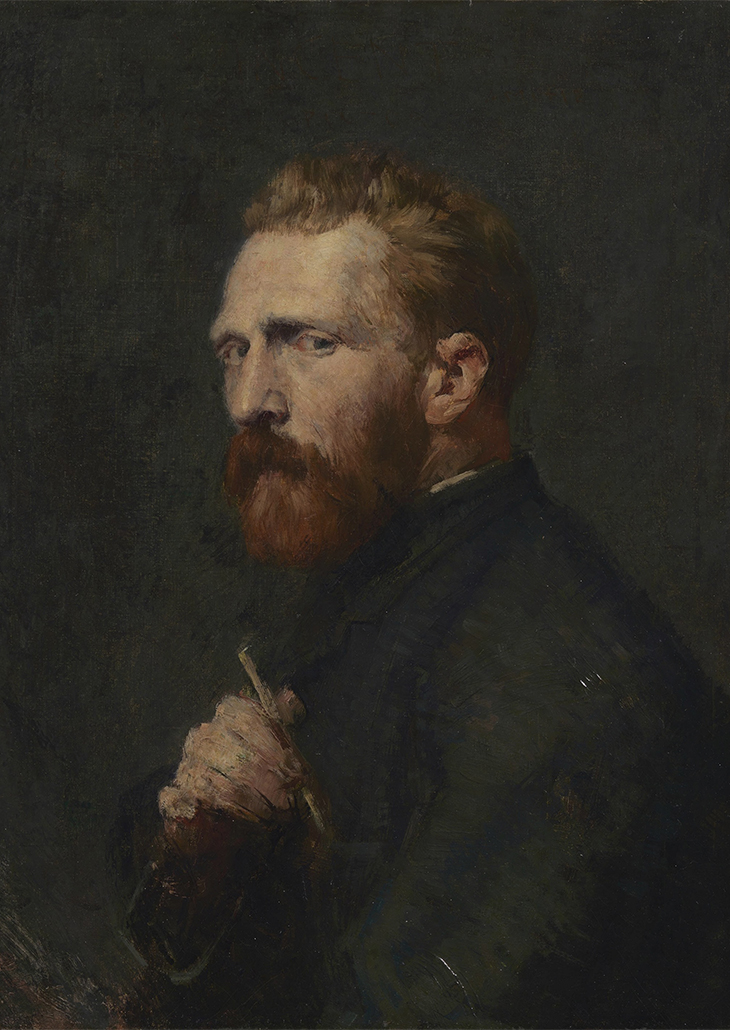 John  Russell: Vincent van Gogh 1886, oil on canvas, 60.1 x 45.6 cm, Van Gogh Museum, Amsterdam (State of the Netherlands), Photo: Maurice Tromp