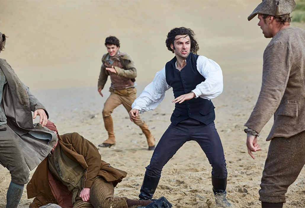 Ross Poldark (Aidan Turner) ©Mammoth Screen, Photo: Robert Viglasky