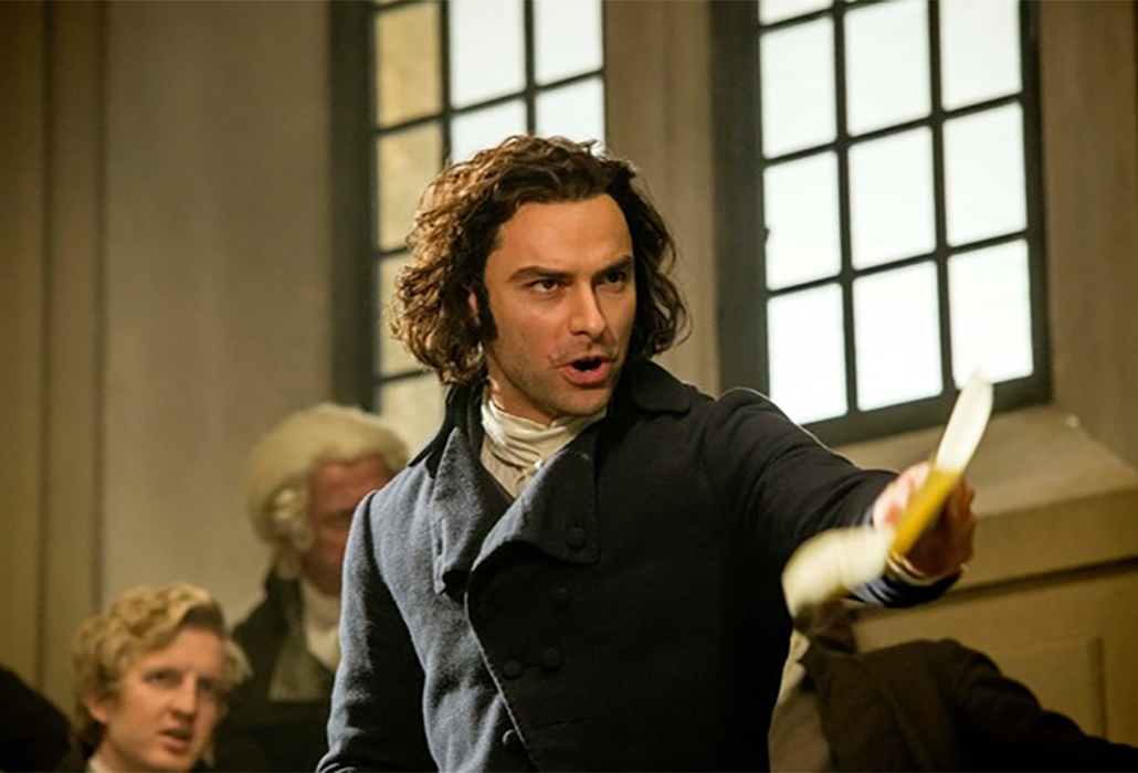Ross Poldark (Aidan Turner) ©Mammoth Screen, Photo Robert Viglasky