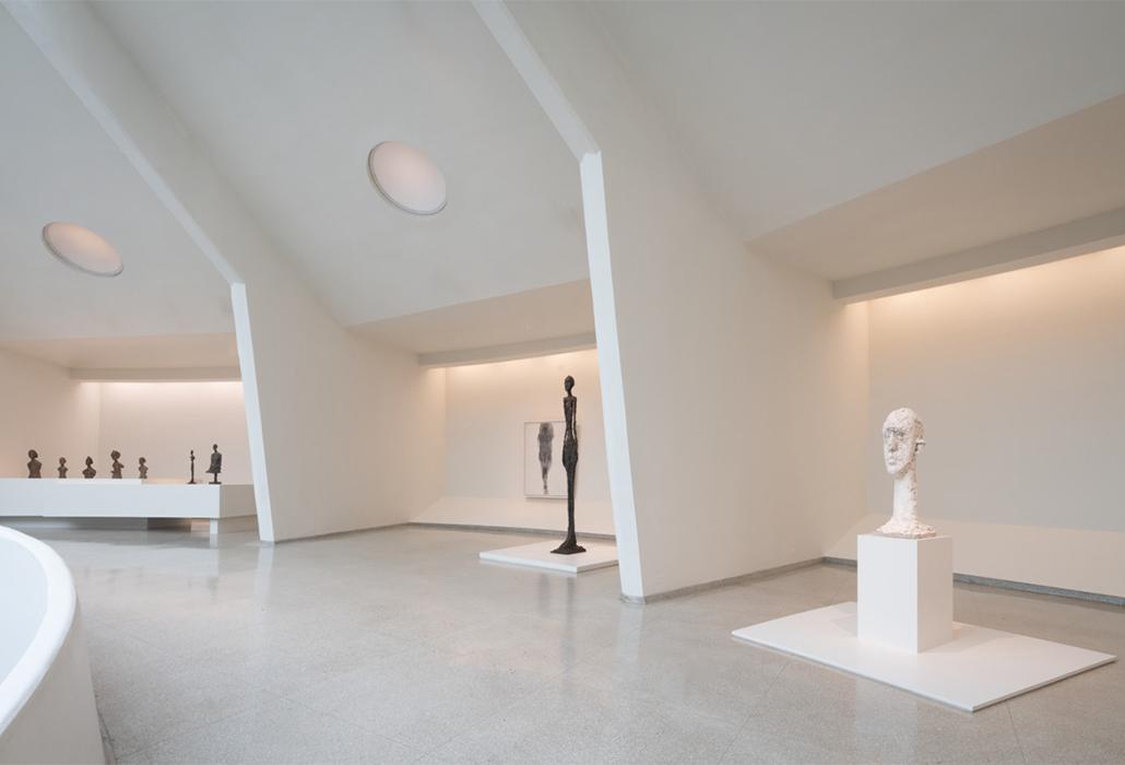 Giacometti Installation