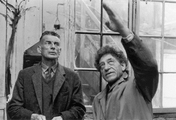 GIACOMETTI AND BECKETT