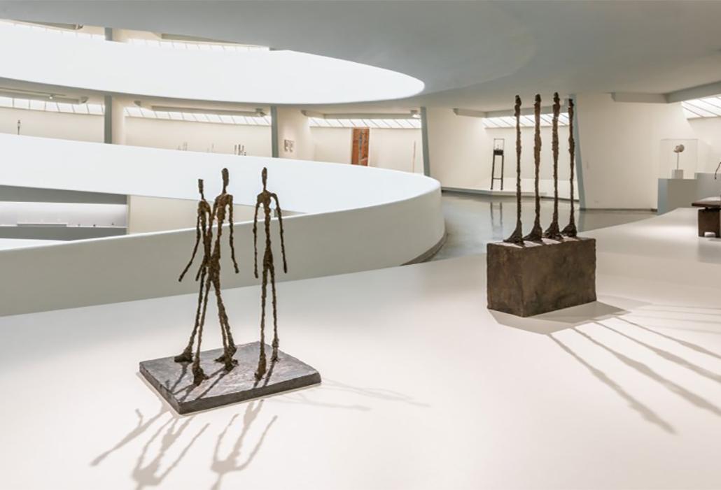 Giacometti at Guggenheim