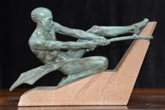 Art Deco Statuette copy
