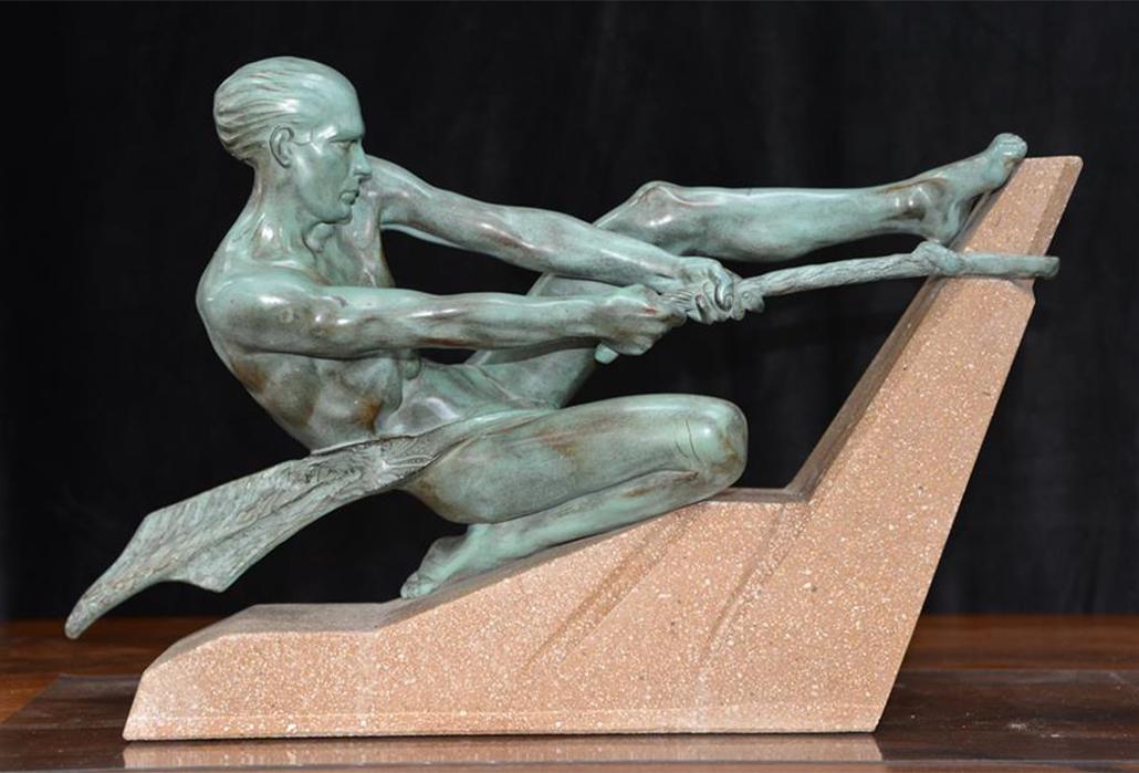 Art Deco Statuette copy