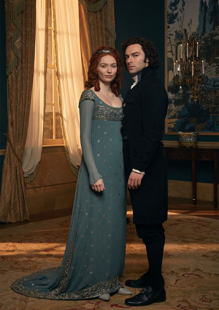 Demelza and Ross in London
