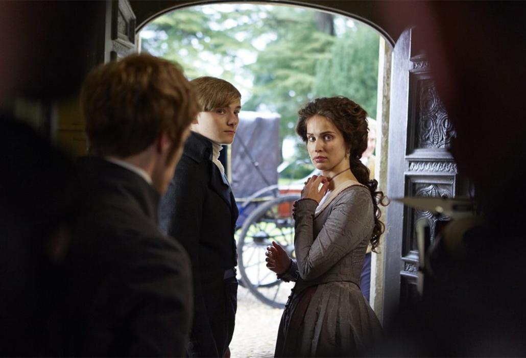 Elizabeth, Louis and George