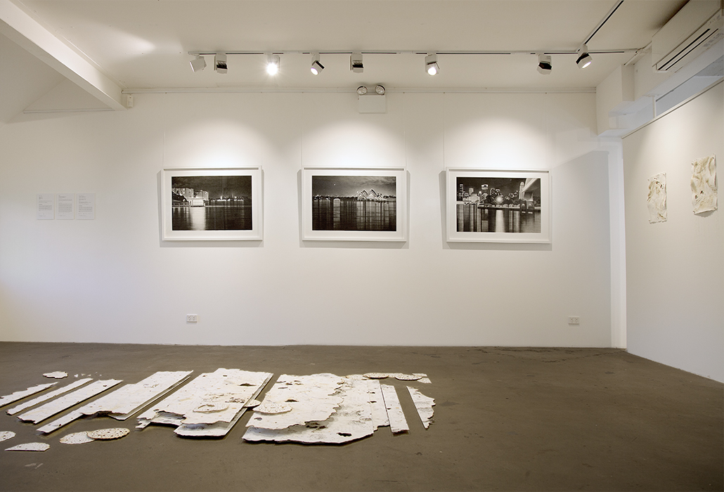 Anne Numont - Informal Geographies Gallery View, courtesy Artist