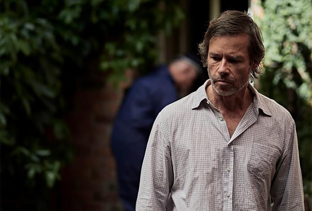Guy Pearce as Jack Irish, courtesy ABC TV