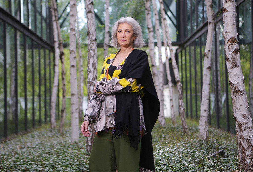 Spanish architect Carme Pinos has been appointed to design the fifth of the Naomi Milgrom sponsored MPavilion temporary structures in Melbourne. Picture by Wayne Taylor 9th February 2018