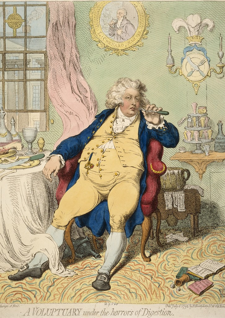 Gillray George IV