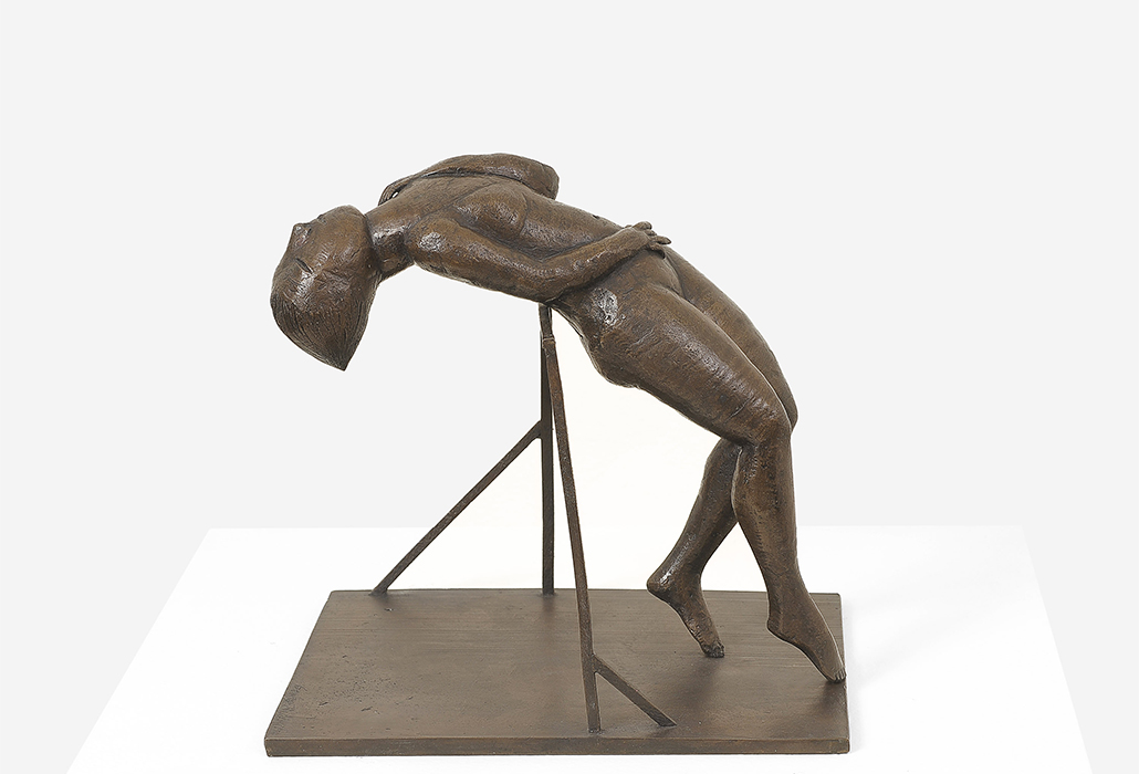 George Baldessin: Performer 1972 bronze 25.0 x 26.0 x 20.0 cm The Estate of George Baldessin © The Estate of George Baldessin