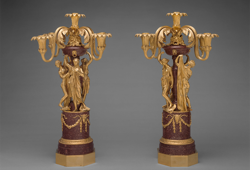 Met Candlesticks Valdier