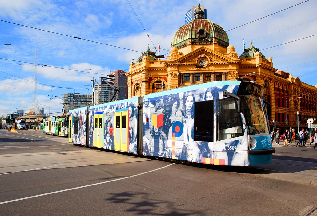 Melbourne Art Tram // Damiano Bertoli