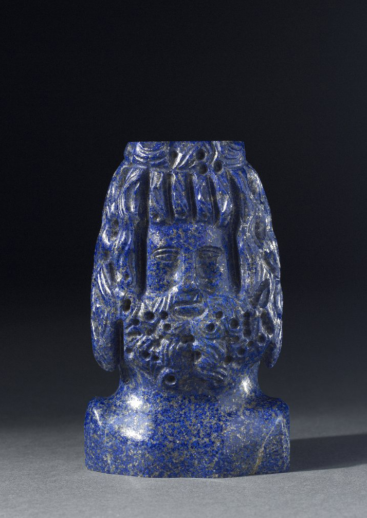 Lapis Portrait Head BM