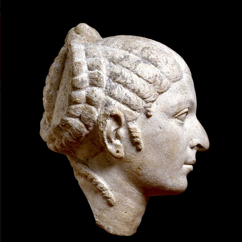 Roman Portrait Head Woman