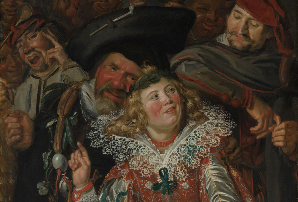 Frans Hals (Dutch, Antwerp 1582/83–1666 Haarlem), ca. 1616-17, Detail: oil on canvas, 51 3/4 x 39 1/4 in, Bequest of Benjamin Altman, 1913, courtesy Metropolitan Museum of Art, New York