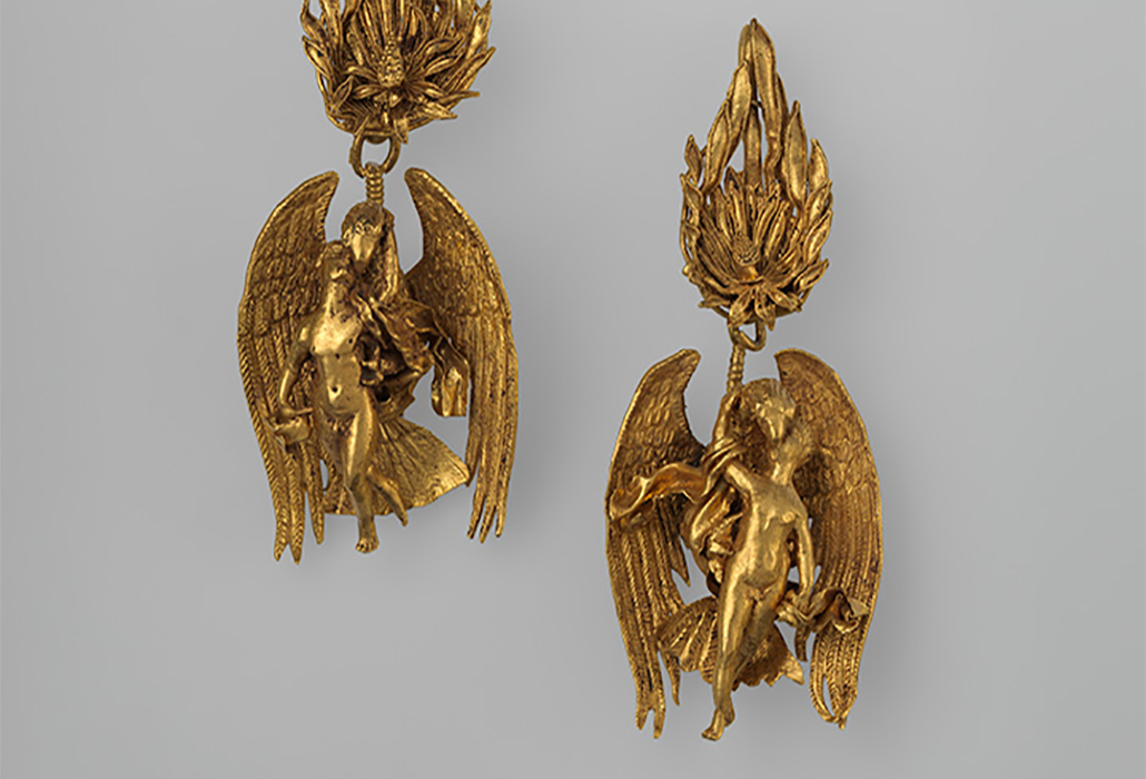 Greek Gold Earrings