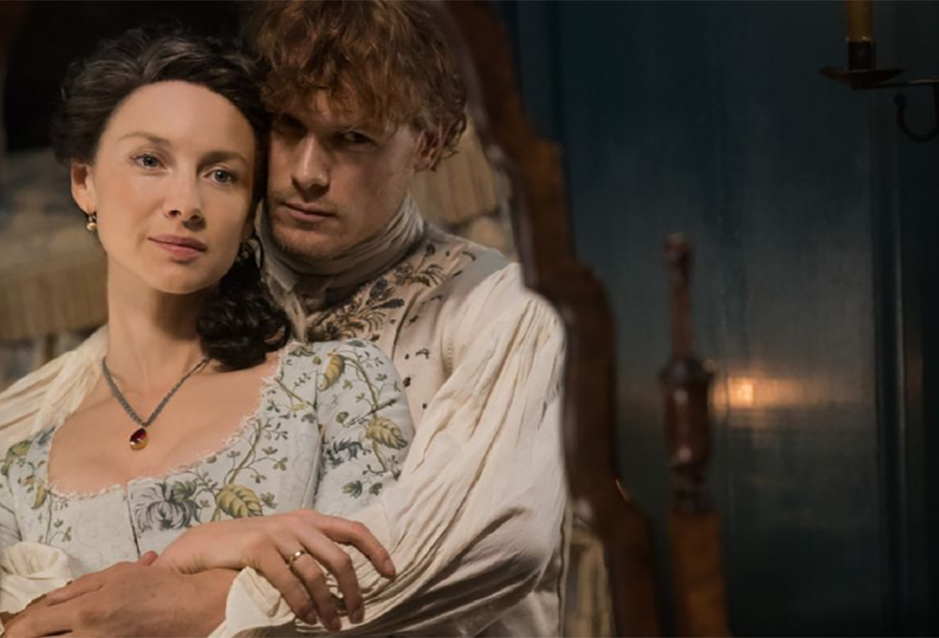 Jamie and Claire Season 4