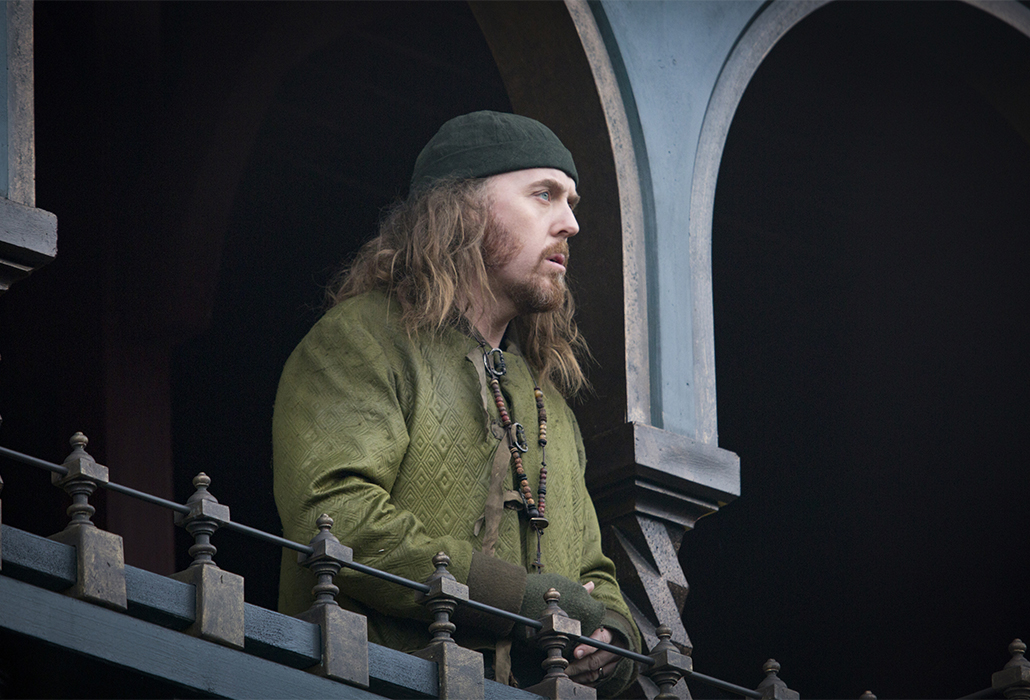 Tim Minchin stars as 'Friar Tuck' in ROBIN HOOD. Photo by: Larry Horricks.