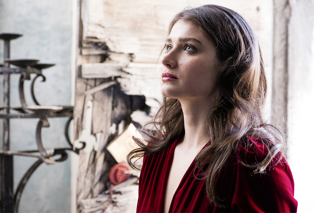 Eve Hewson stars as 'Maid Marian' in Robin Hood. Photo by: Larry Horricks.
