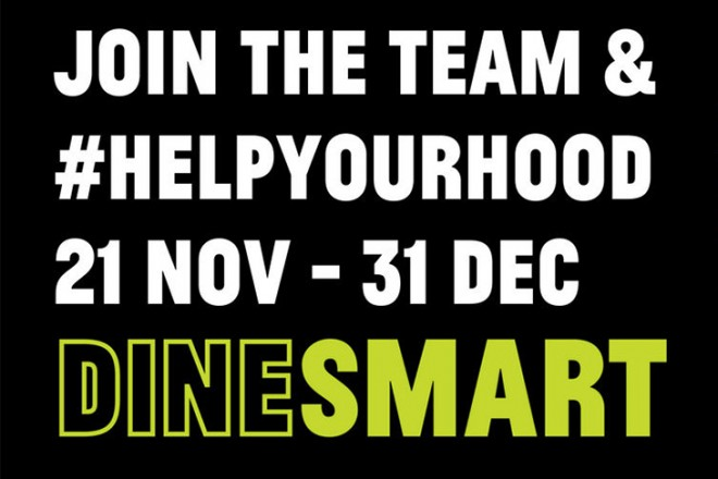 DineSmart by StreetSmart – Helping Out Someone Sleeping Out