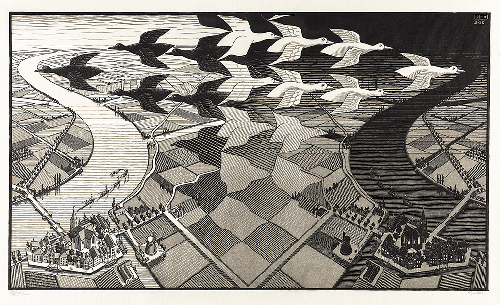 Escher Day and Night