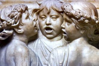 Detail Della Robbia; Cantoria