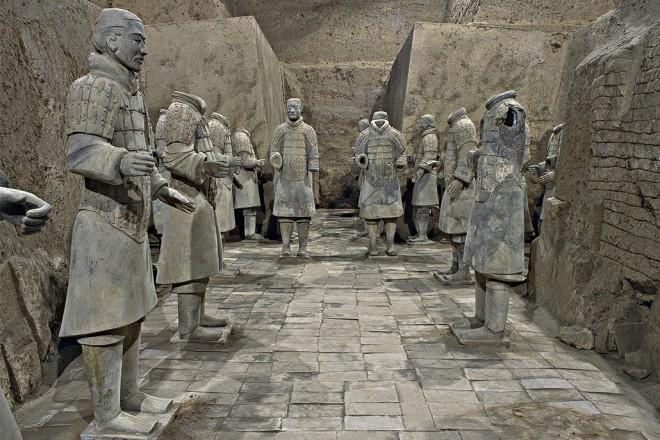 Terracotta Warriors | Cai Guo-Qiang: Winter Masterpieces NGV