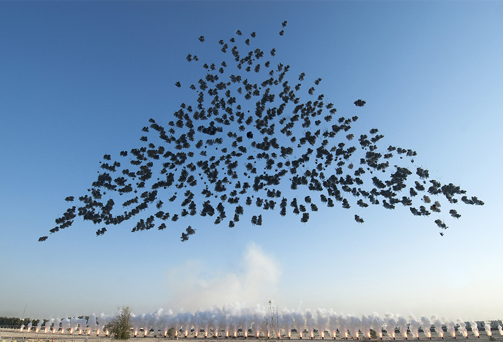 Black Ceremony Cai Guo Qiang