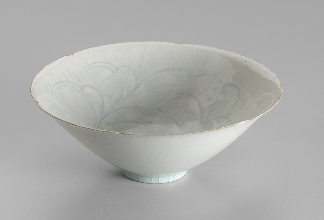 CHINESE: Bowl (Northern Song late 10th– early 12th century), porcelain (Qingbai ware) 7.4 x 20.0 cm diameter, Gift of H. W. Kent, 1938