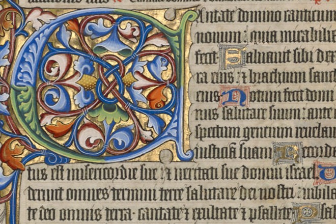Artful Words: Calligraphy in Illuminated Manuscripts – Getty