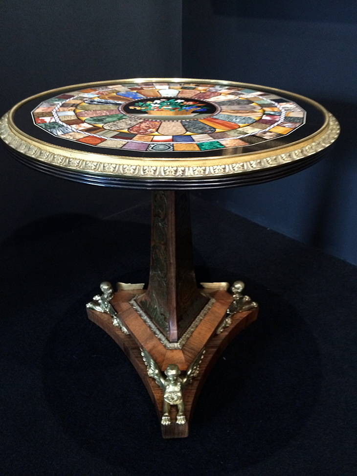 Pietra Dura Table TDRF