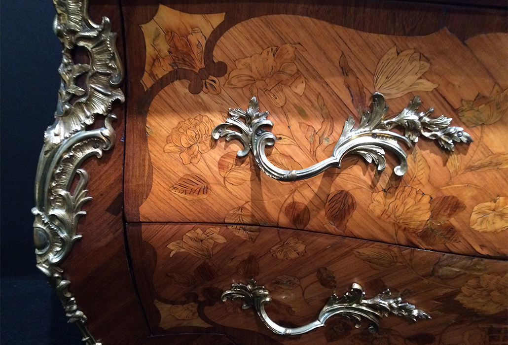 Marquetry and Ormolu