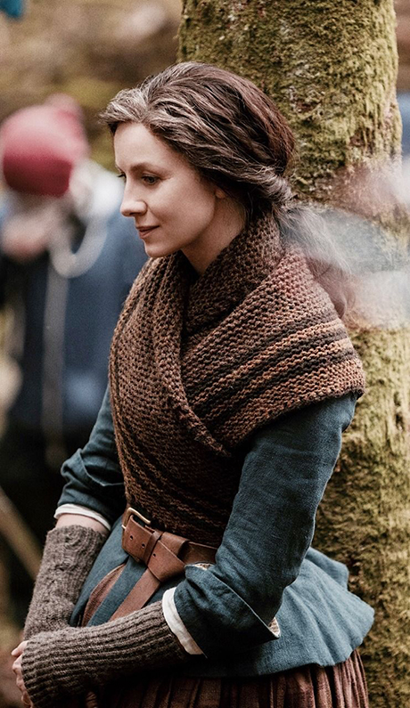 Caitriona Balfe as Claire Fraser in Starz Outlander